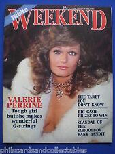 Weekend Magazine - Valerie Perrine, Jimmy Tarbuck, Simon Le Bon   27th Feb. 1985