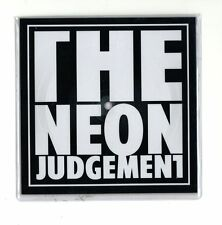 "The Neon Judgement ‎– Tv Treated (7"" Square Picture Disc)"