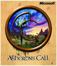 Microsoft Asheron's Call Cd & Case 1999 Pc - Great Condition Asherons