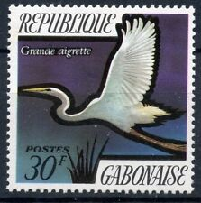 TIMBRE DU GABON N° 278 ** FAUNE / OISEAU GRANDE AIGRETTE