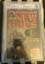 NEW GODS #1 CBCS not CGC 7.5 1ST APP ORION SON OF DARKSEID KIRBY CLASSIC