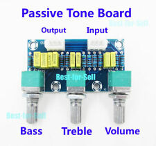 HIFI Amplifier Passive Tone Board Treble Bass Volume Control Preamp Board 2.1CH