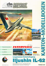ILYUSHIN IL-62, Passagierflugzeug. Version Interflug