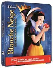 Blu Ray + DVD : Blanche neige et les sept nains Ed Steelbook Disney Fnac - NEUF