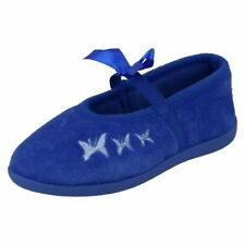 Scarpe Pantofole blu da infilare per bambine dai 2 ai 16 anni