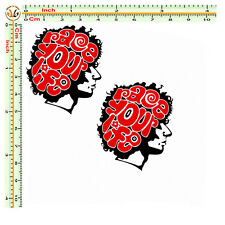Adesivi auto moto marco simoncelli stickers supersic race your life  pvc  2 pz.
