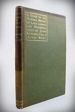 1895*GUIDE TOTHE NATURAL HISTORY OF LOCH LOMOND*LUMSDEN*SCOTTISH BIRDS/FISH/DEER