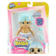 Little Live Bizzy Bubs Toy Baby Doll Snowbeam I Walk and Talk We Love To Play