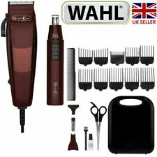 Wahl 79449-917 GroomEase Clipper & Nose/Ear Trimmer Home Haircutting Full Kit