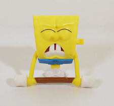 "2012 Shaking Weightlifter Spongebob 3"" McDonalds #5 Sports Action Figure Toy"