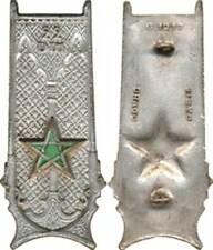 22° Division d'Infanterie Marocaine, dos lisse embouti, anneaux,Drago 1217(7258)