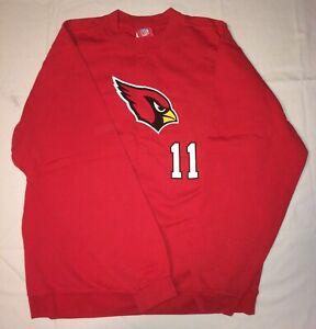 EUC NFL NFC Arizona Cardinals Larry Fitzgerald #11 Red Sweatshirt Youth XL