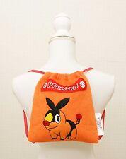 Pokemon Tepig  Pokabu Small Backpack for Kids Toweling Fabric Pocket Monster NEW