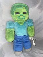 2014 Mojang Minecraft Zombie Plush Stuffed Animal Toy