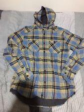 Vans hooded flannel