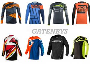 New ACERBIS Adult Motocross Enduro Jersey Shirt KTM SX EXC MTB MX CRF KX YZ RM