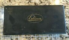 Vintage Estima German carving Tool Kit with Razor Hone Sharpening stone Thuringi