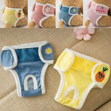 Washable Dog Diaper Pet Potty Pads Training Pants Reusable Female Dog Diapers