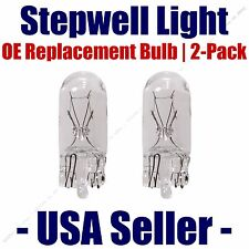 Stepwell Bulb 2pk OE Replacement Fits - Listed Chevrolet Vehicles - 168