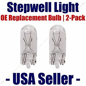 Stepwell Bulb 2pk OE Replacement Fits - Listed Buick Vehicles - 168