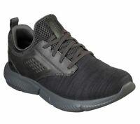 Memory Foam Skechers Shoes Men Charcoal Sport Comfort Train Walk Knit Mesh 65862