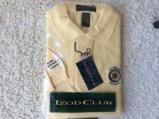 Icon Club J P McCarthy Memorial Invitational Golf Shirt Yellow Short Sleeve L