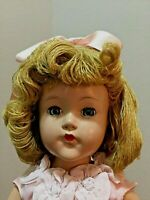 VINTAGE Effanbee Little Lady, Anne Shirley, 1940s, YARN HAIR Doll 18""