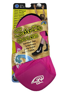 Sand Socks for Soccer, Volleyball, Snorkeling, X-Small, Pink