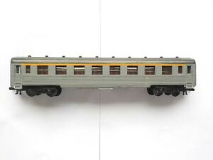 Wagon Jouef voyageurs voiture 1re classe A8 SNCFmyfi type DEV Inox liseret jaune