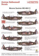 Techmod 1/32 Morane-Saulnier MS.406C1 Armee d l'Air piloté par Polonais Pilotes