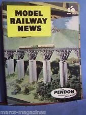 MODEL RAILWAY NEWS MAY 1959 BRUNEL TIMBER VIADUCT IMR LOCOMOTIVE NO 16 MANNIN