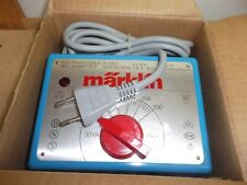 Märklin Transformador 6631 Corriente Alterna Azul 220V / 30VA Nuevo En Emb.orig