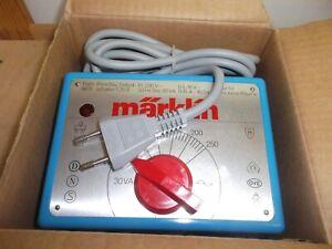 Märklin Throttle Control 6631 Alternating Current Blue 220 V/30 VA New Boxed