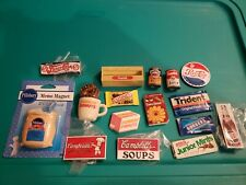 Huge lot 16 Pepsi Cambells Dunkin Donuts Food Magnet Fridge Combined Shipping