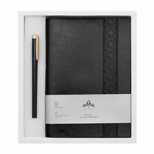 A5 LEATHER VINTAGE LINED PAGES  NOTEPAD NOTEBOOK NOTE BOOK JOURNAL DIARY Black