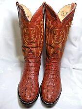 Corral Mens Crocodile /  Cayman Cowboy Boots   Size 11 D Cognac Color  #6 JOS