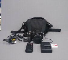 Sony DSC-H50 9.1MP 15x Optical Zoom Digital Camera - Black No Reserve!!!