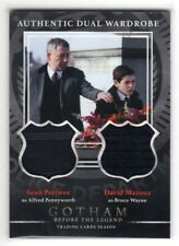 2016 GOTHAM Season 1 Sean Pertwee & David Mazouz Dual Wardrobe Relic Card #DM5
