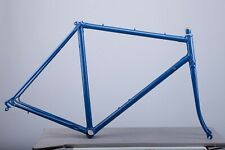 Mondial vintage steel frame and fork early 1980s 54cm fresh powdercoating