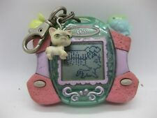 Littlest Pet Shop Kitty Digital Virtual Pets Pink Mouse Fish 2007 Hasbro Working