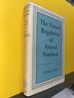 The Natural Regulation Of Animal Numbers David Lack 1967 Oxford HC very good con