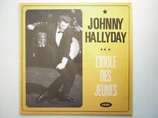 Johnny Hallyday 33Tours L'idole des jeunes. Enregistré en concert à Paris en 62