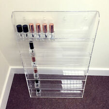 Wall Mounted Acrylic Nail Polish Display Stand Varnish Shop Retail 60 Bottles UK