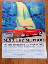 1961 Mercury Meteor 800 Coupe Ad