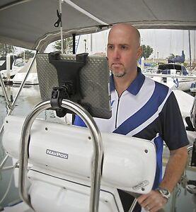 Bike Sail-Boat Helm Handlebar Tablet Mount for Apple iPad 3,2,Air Pro, LG,TAB127