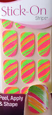 Kiss Nails Stick- On Nail Strips Nail Appliques  # 58422 DGSS49 Silk !New!