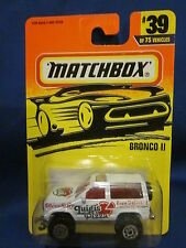 1995 Matchbox Bronco 11 #39 Sealed