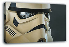 Star Wars Stormtroopers Reflection POSTER FRAMED ON CANVAS & MOUNTED