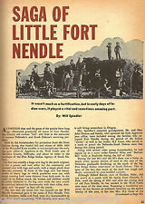 Fort Nendle History & Family Life - era of Wounded Knee