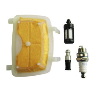 Air Filter Service Kit Spark Plugs Fuel Filter for Stihl MS171 MS181 MS211 UK